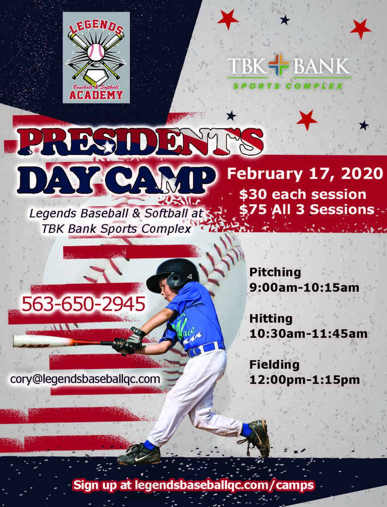 MLK Day Baseball Camp
